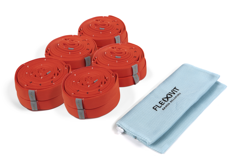 FLEXVIT Multi Band - 10er Set health orange