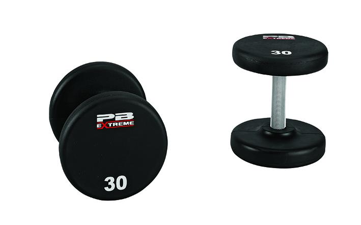 PB Extreme Urethane-Hantelsets - 27,5 kg (Paar)