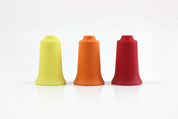 BellaBambi® - Trio (zitronengelb, orange, rubinrot) + Buch (Set)