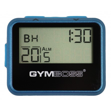 Gymboss® Intervall Timer - metallic blau