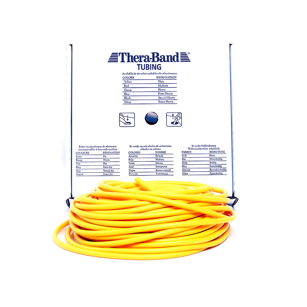Thera-Band Tube - extra-dünn (beige)