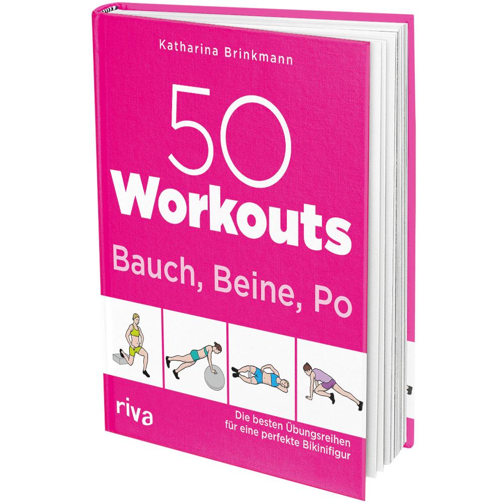 50 Workouts – Bauch, Beine, Po (Buch)