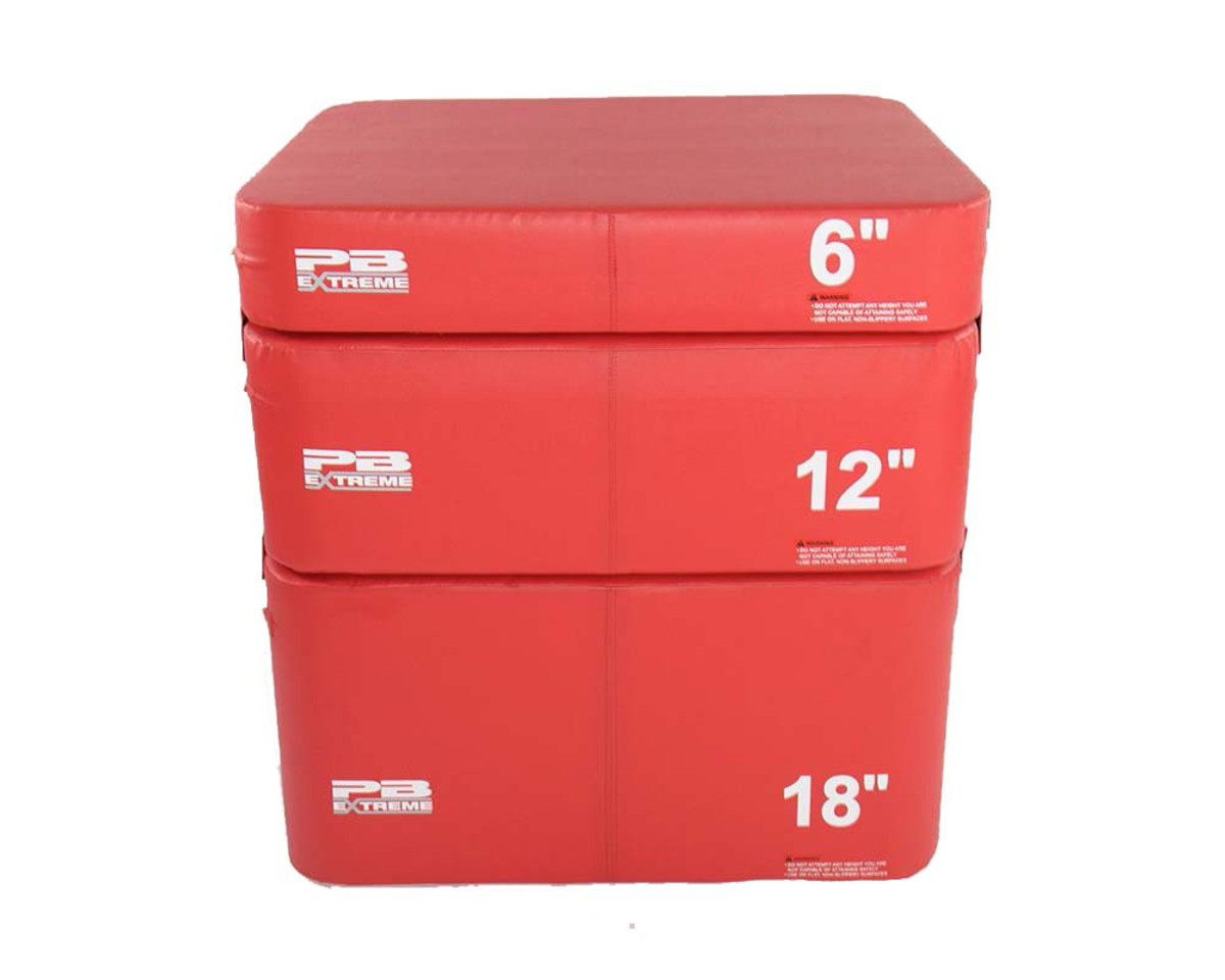 PB Extreme Soft Plyo Box rot - 8 cm - einzeln