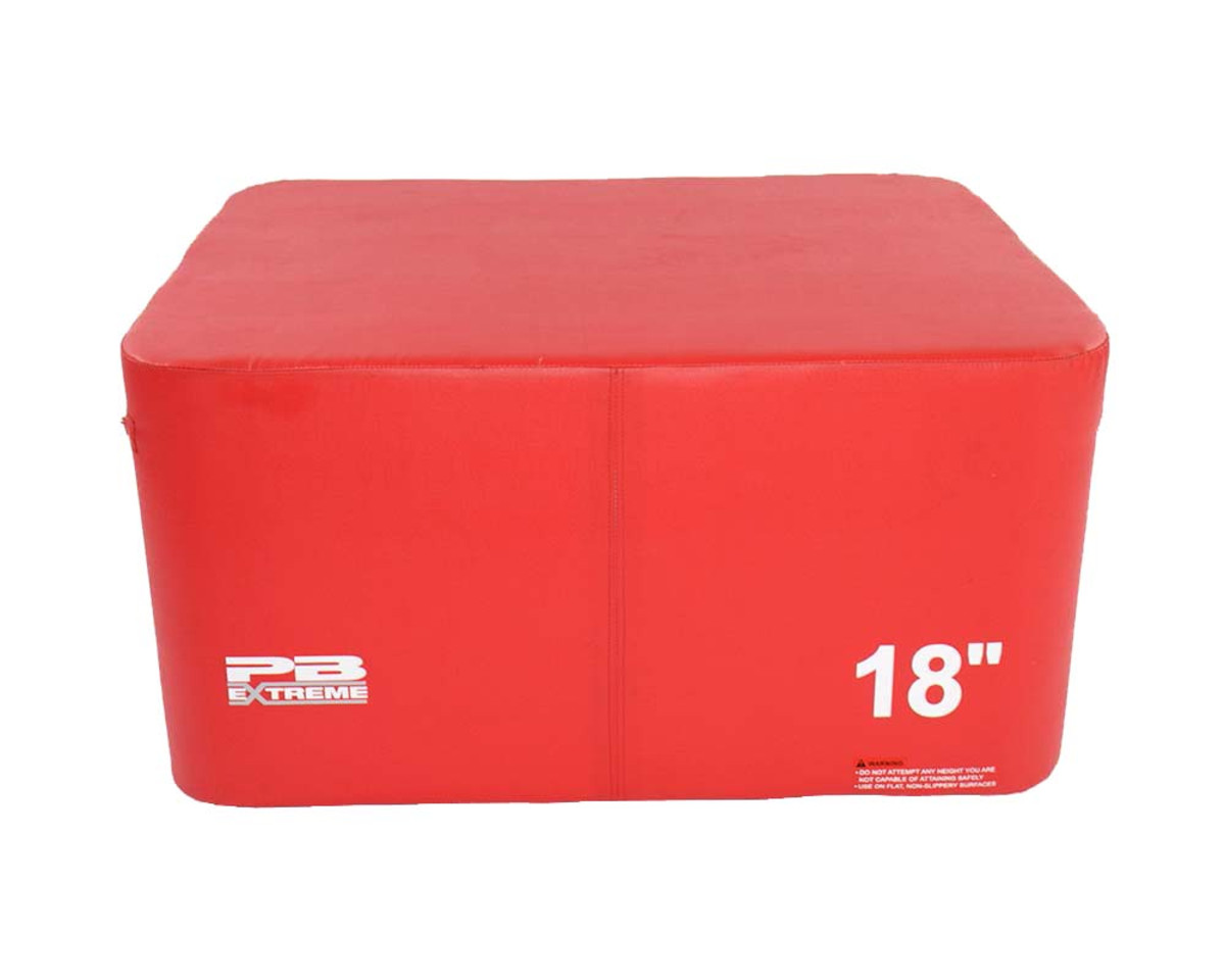 PB Extreme Soft Plyo Box rot - 45 cm - einzeln