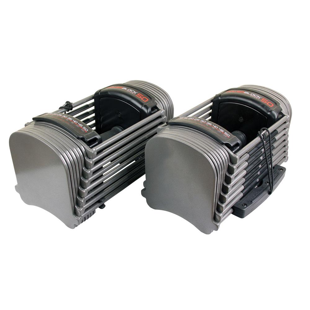 PowerBlock Sport 50 Set 4-22,5kg (10-50lbs) (Paar)