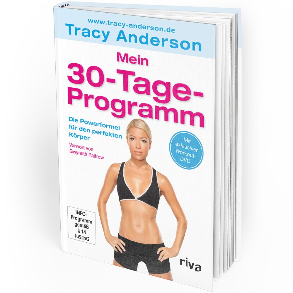 Tracy Anderson - Mein 30-Tage-Programm (Buch) Mängelexemplar