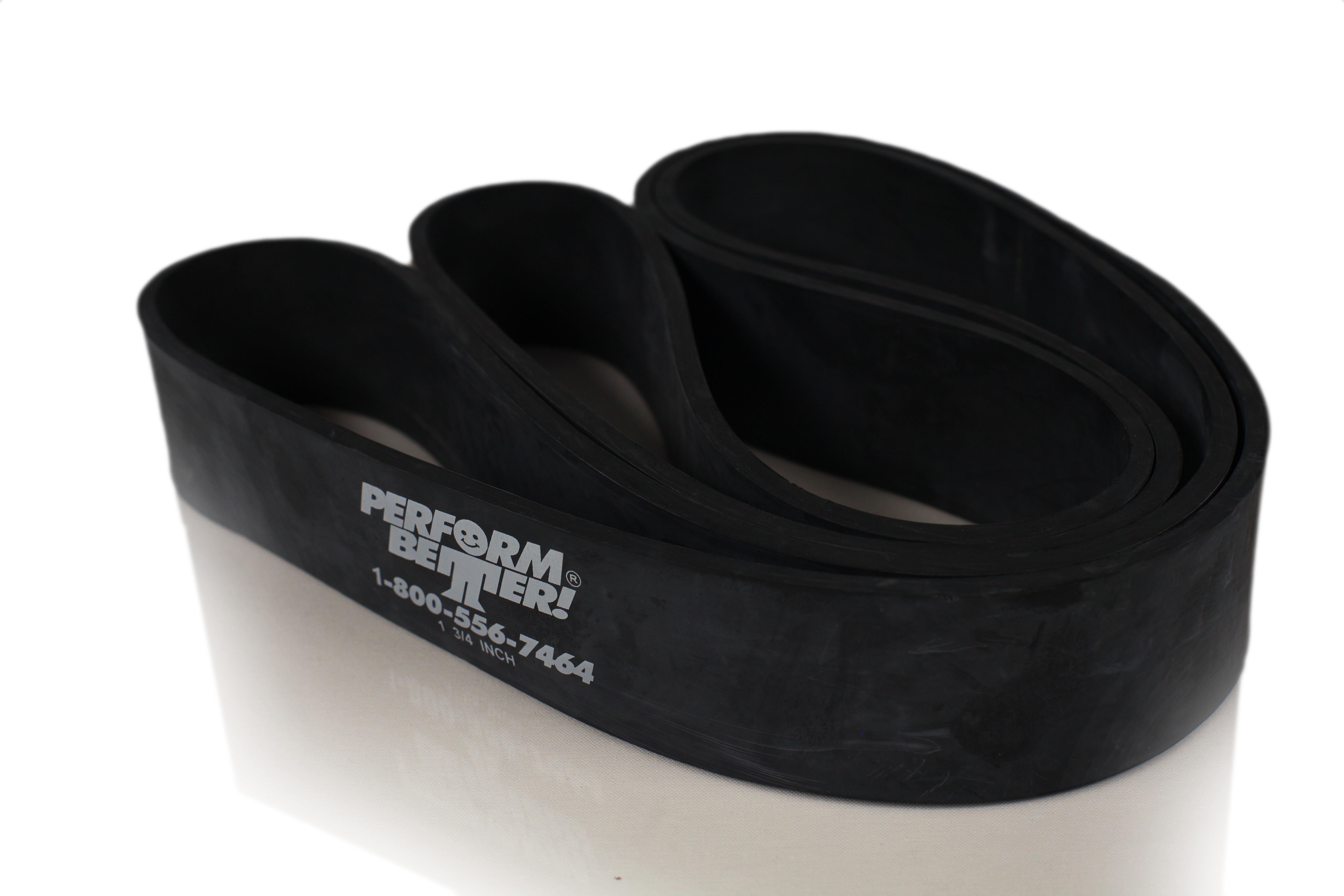 Superbands - 4,5 cm breit, 35 kg, schwarz (5mm dick)