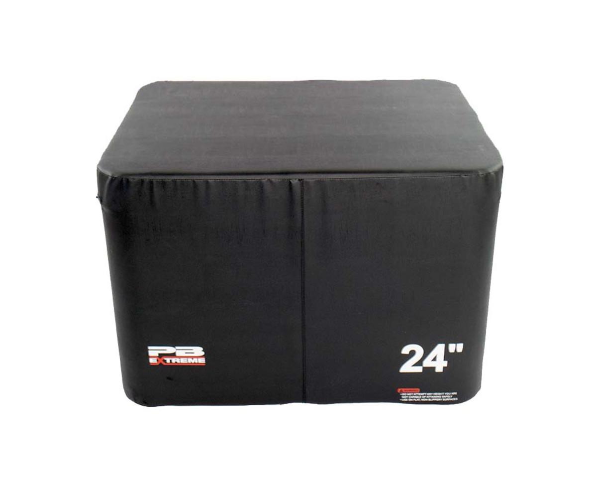 PB Extreme Soft Plyo Box schwarz - 3er Set (15/30/45 cm)