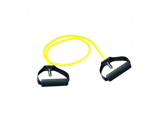 Gymtube gelb mit Schaumpolster Griffen (gelb/leicht)