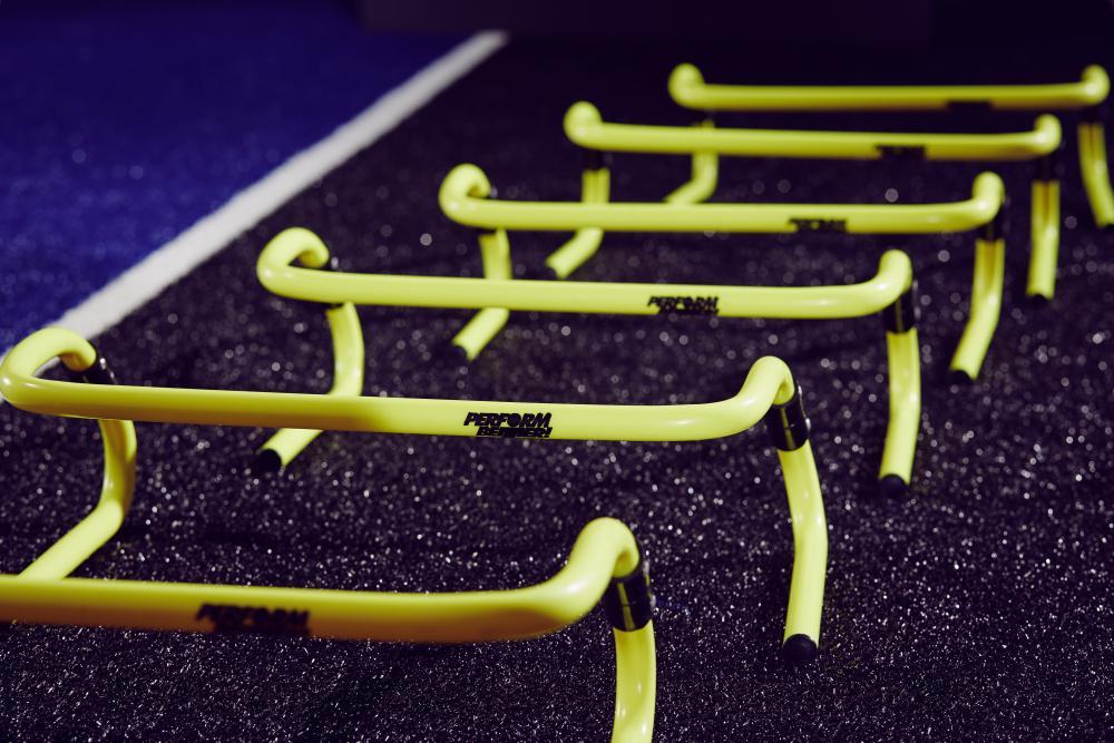 PB SAQ Hurdles Farbe gelb