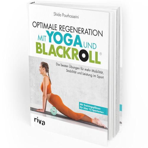 Optimale Regeneration mit Yoga und Blackroll (Buch) Mängelexemplar