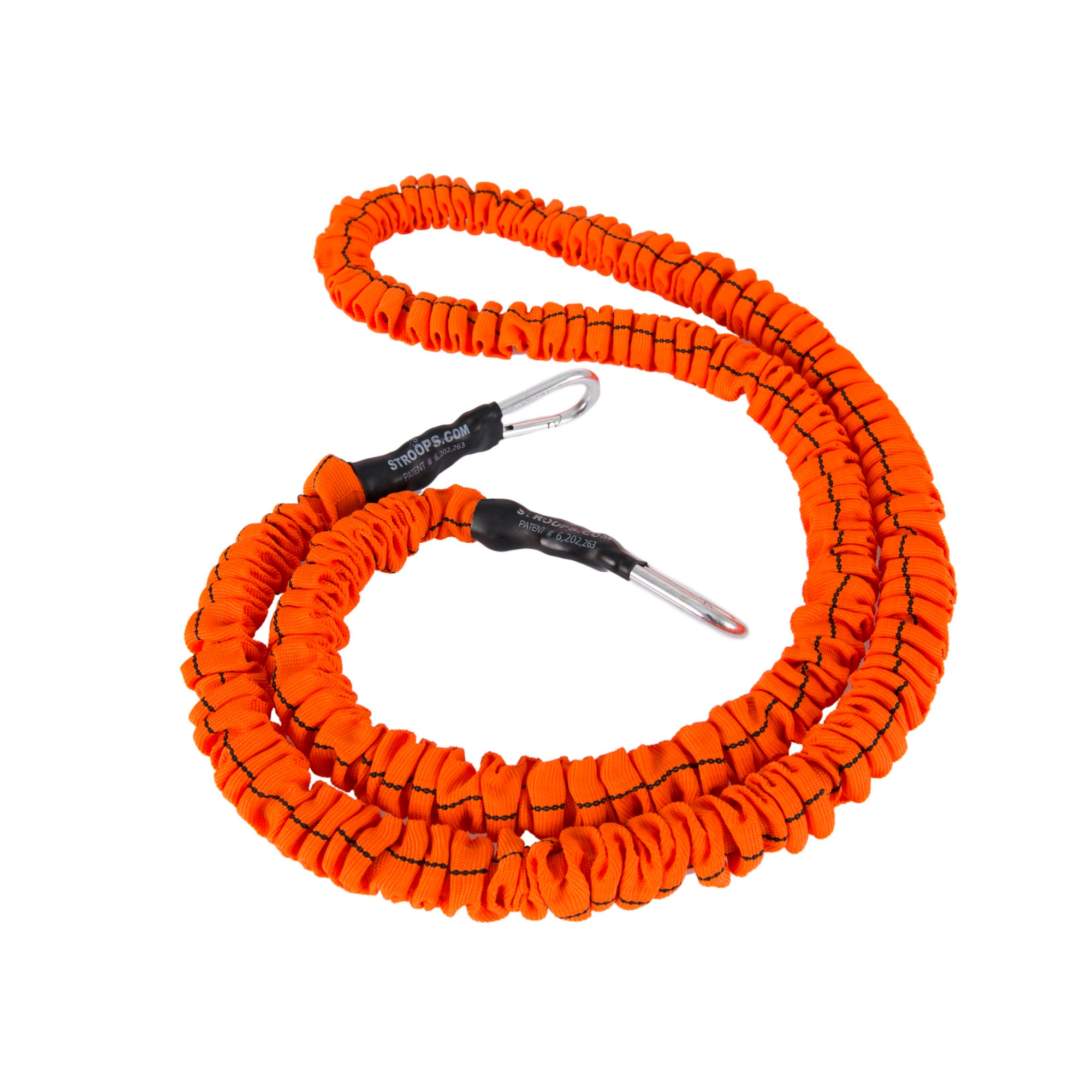 "Stroops 48"" Long Orange safety sleeve slastix w/clips Medium (Rot)"