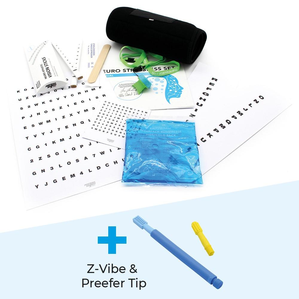 Neuro Stressless Set + Z-Vibe + Preefer Tip (Set)