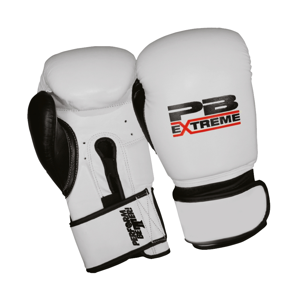 PB Extreme Fitness Boxing Gloves Weiß