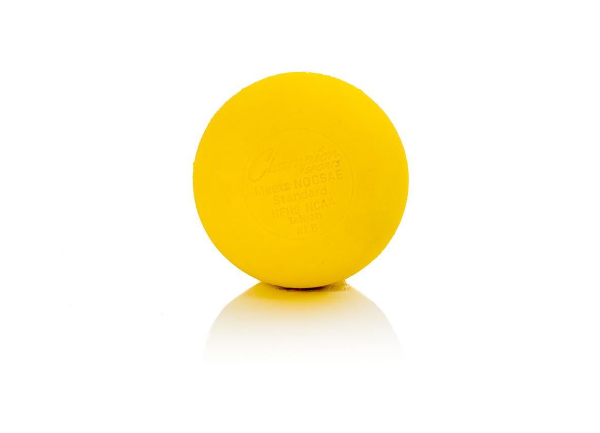 Lacrosse Ball - Standard - gelb