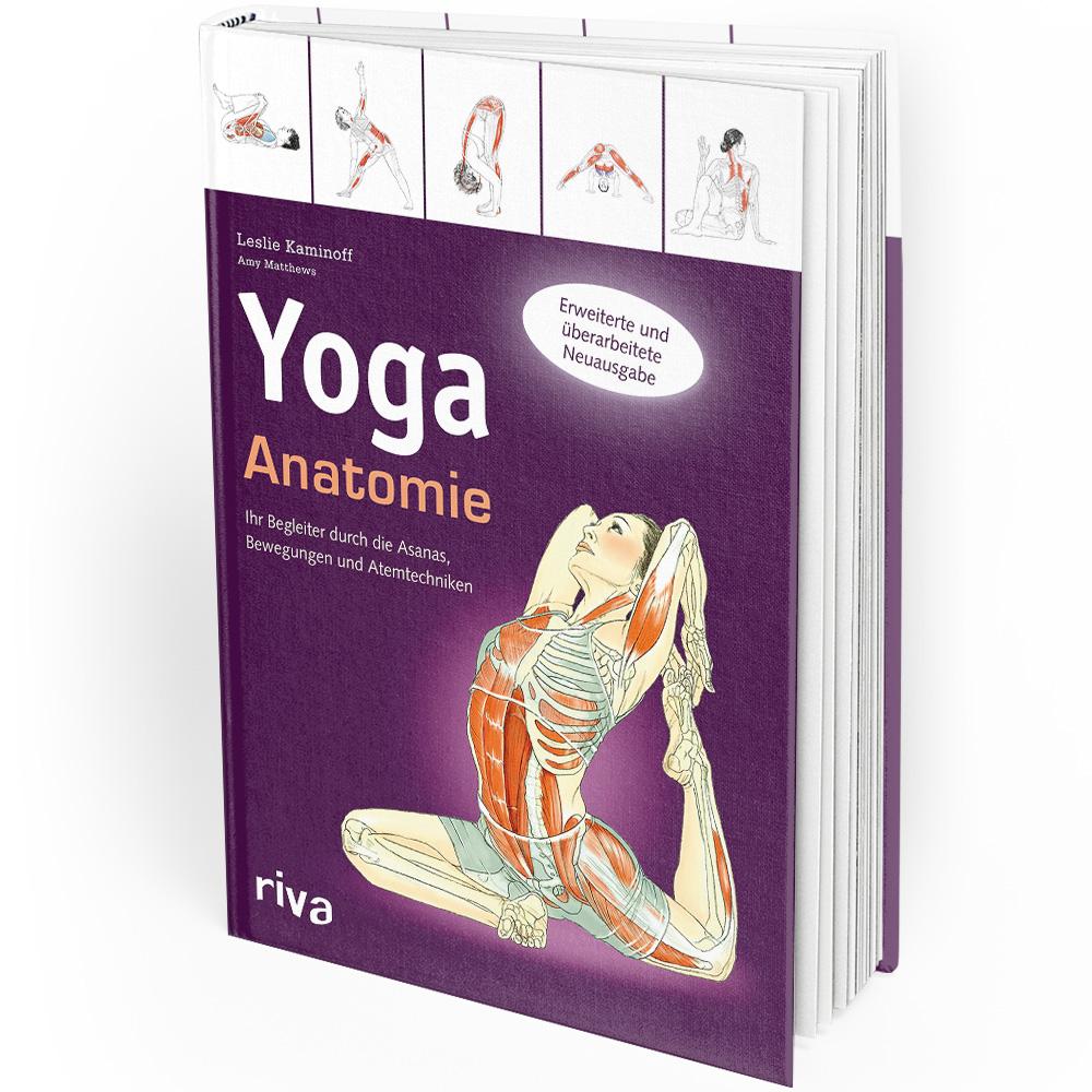 Yoga-Anatomie erweiterte und überarbeitete Ausgabe (Buch)